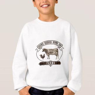Brown Chicken Brown Cow Farms Sweatshirt