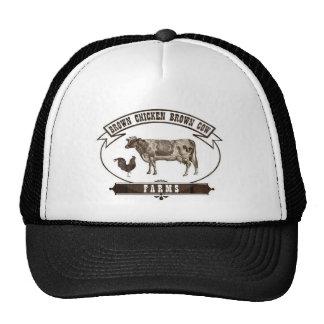 Brown Chicken Brown Cow Farms Trucker Hat