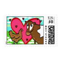 Brown Chicken Brown Cow Postage