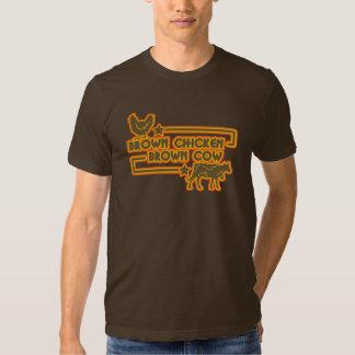 Brown Chicken Brown Cow Tee Shirt