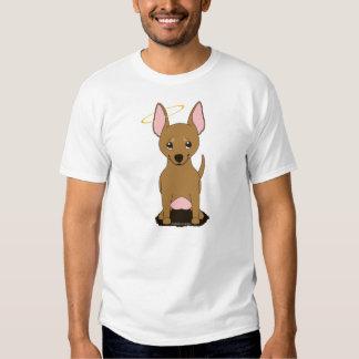 Brown Chihuahua Angel Halo Shirt