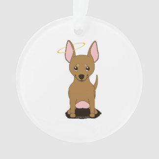 Brown Chihuahua Halo Ornament