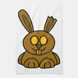 Brown Chocolate Bunny Kitchen Towel