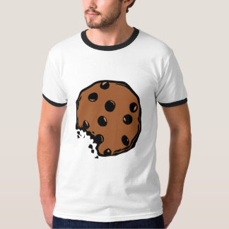 Brown chocolate cookie animated T-Shirt