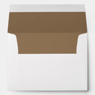 Brown Chocolate Medium Invitation Envelope