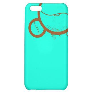 brown circle iPhone 5C cases