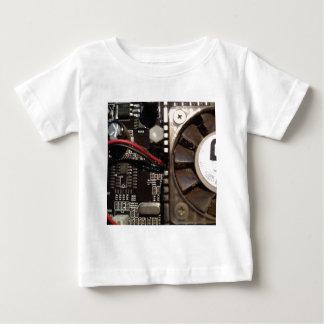 brown circuit board with fan shirt