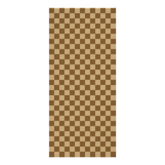 Brown Classic Checkerboard by Shirley Taylor Rack Card