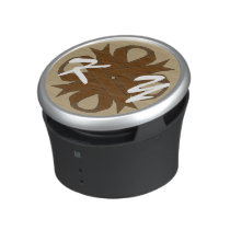 Brown Clover Ribbon by Kenneth Yoncich Bluetooth Speaker