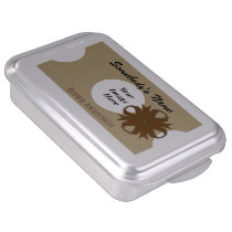 Brown Clover Ribbon by Kenneth Yoncich Cake Pan