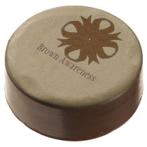 Brown Clover Ribbon by Kenneth Yoncich Chocolate Covered Oreo