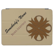 Brown Clover Ribbon by Kenneth Yoncich iPad Air Cover