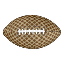 Brown Clover Ribbon Football