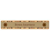 Brown Clover Ribbon Key Rack