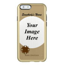 Brown Clover Ribbon Template Incipio Feather Shine iPhone 6 Case