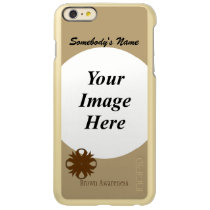Brown Clover Ribbon Template Incipio Feather Shine iPhone 6 Plus Case