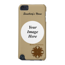 Brown Clover Ribbon Template iPod Touch (5th Generation) Case