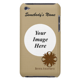 Brown Clover Ribbon Template iPod Touch Case