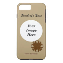 Brown Clover Ribbon Tmpl by Kenneth Yoncich iPhone 8 Plus/7 Plus Case