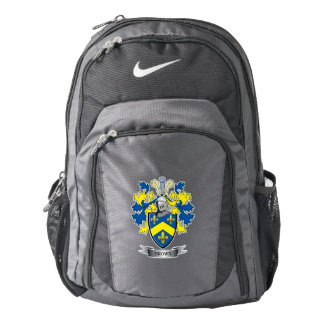 Brown Coat of Arms Backpack