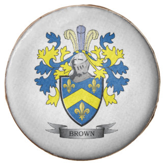 Brown Coat of Arms Chocolate Covered Oreo