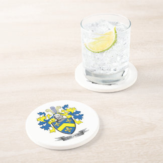 Brown Coat of Arms Drink Coaster