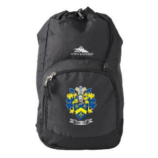 Brown Coat of Arms High Sierra Backpack
