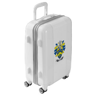 Brown Coat of Arms Luggage