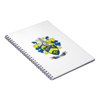 Brown Coat of Arms Notebook