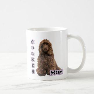 Brown Cocker Spaniel Mom 4 Coffee Mug