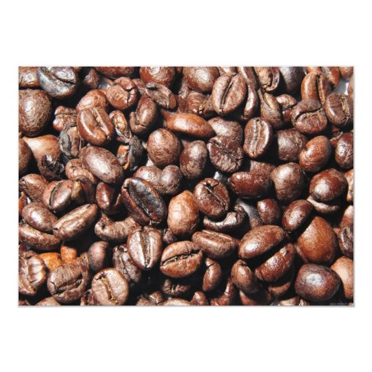 BROWN COFFEE BEANS PHOTOGRAPHY BACKGROUNDS FOODS CARD
