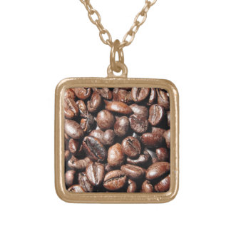 BROWN COFFEE BEANS PHOTOGRAPHY BACKGROUNDS FOODS NECKLACE
