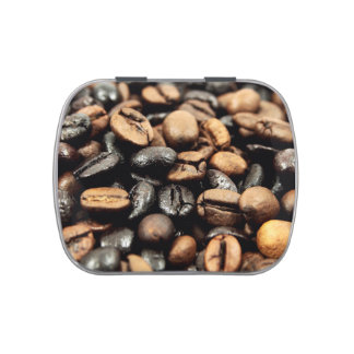 Brown Coffee Beans Photography Jelly Belly Tins