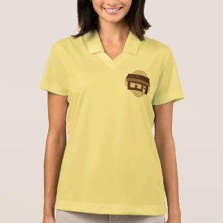 Brown Coffee Shop Polo Shirts