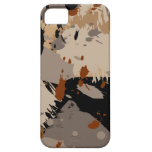 Brown Collage iPhone 5 Case