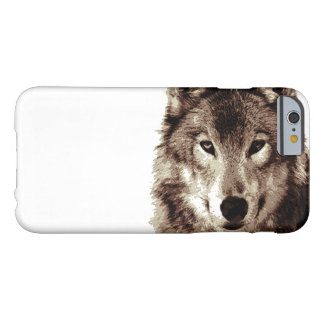 Brown Color Tones Wolf iPhone 6 Case