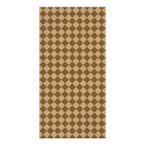 Brown Combination Diamond Pattern by STaylor Card