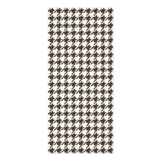 Brown Combination Houndstooth by Shirley Taylor Rack Card