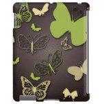 Brown con las mariposas verdes, caso del iPad del