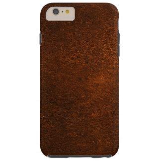 Brown Concrete Creation Tough iPhone 6 Plus Case