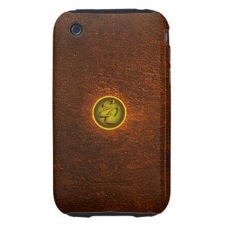 Brown Concrete Creations iPhone 3 Tough Case