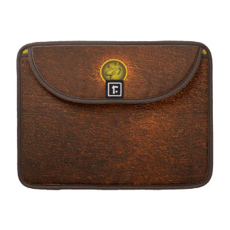 Brown Concrete Creations Sleeve For MacBook Pro