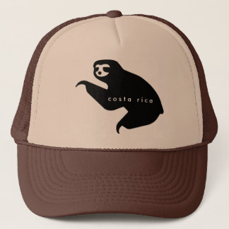 Brown Costa Rica Sloth Souvenir Hat