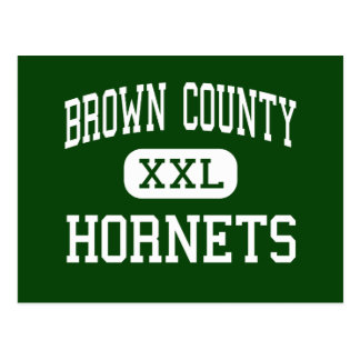 Brown County - Hornets - High - Mount Sterling Post Card