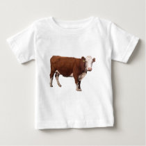 Brown Cow Baby T-Shirt