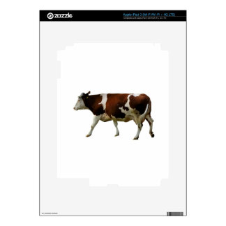 Brown Cow Decal For iPad 3