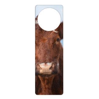Brown Cow Door Knob Hangers
