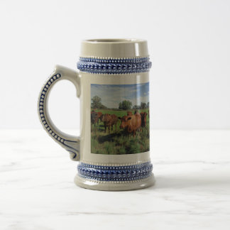 Brown_Cow_Field,_Beer_Stein_Mug. Beer Stein