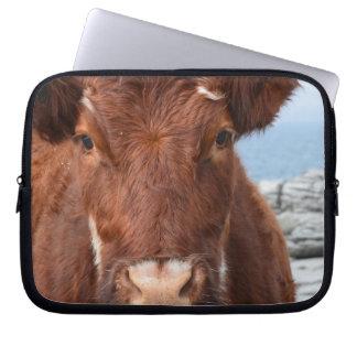 Brown Cow Laptop Computer Sleeves