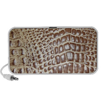 Brown Cow Leather Customize w/ Name Portable Speaker